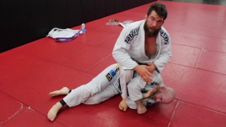 Simple Mount Choke for Submission Setups or Risky Guard Break