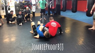Sneaky Reverse Triangle From Armbar Defence – Kent Peters
