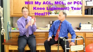 Will my ACL, MCL, or PCL (Knee Ligament) Tear Heal?