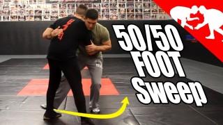 50/50 Foot sweep – Kyle Cerminara