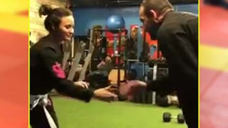 Demi Lovato Rolls With Boyfriend Guilherme 'Bomba' Vasconcelos
