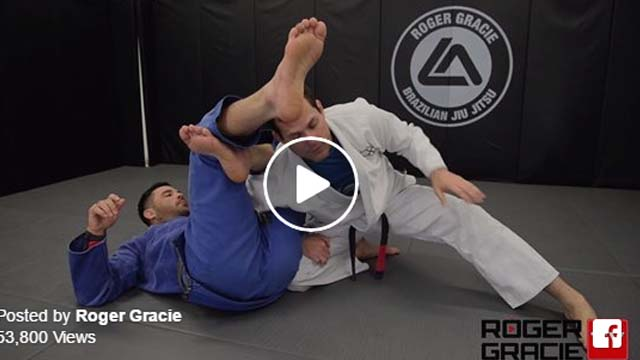 Incredible Omoplata escape by Roger Gracie