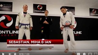 Kids game for BJJ – Stick in the mud
