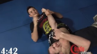 Caio Terra Ruthlessly Taps Budo Jake 8 Times in 7 Mins