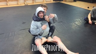 Aggressive Back Escape Kimura -Kent Peters