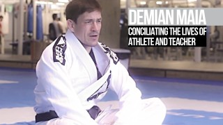 Demian Maia on the challenges of being an athlete/teacher