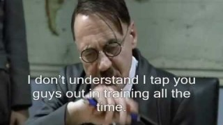Hitler is told that he sucks at BJJ