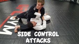 Interesting Shoulder Lock from Side Control – Greg Walker