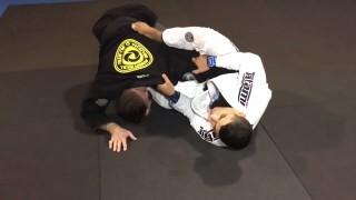 JT Torres teaches an open guard armbar