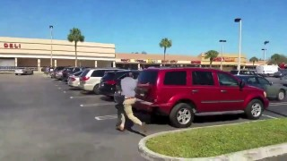 Man Out-Grapples Florida Police Officer and Gets Away! (Gracie Breakdown)