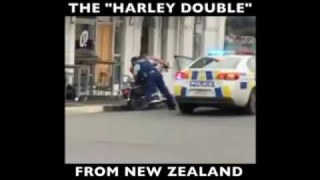 """The New """"Harley Double"""" Technique from New Zealand! (Gracie Breakdown)"""