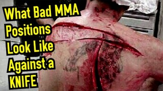 Top 5 WORST MMA/BJJ Positions to find yourself in a STREET FIGHT!