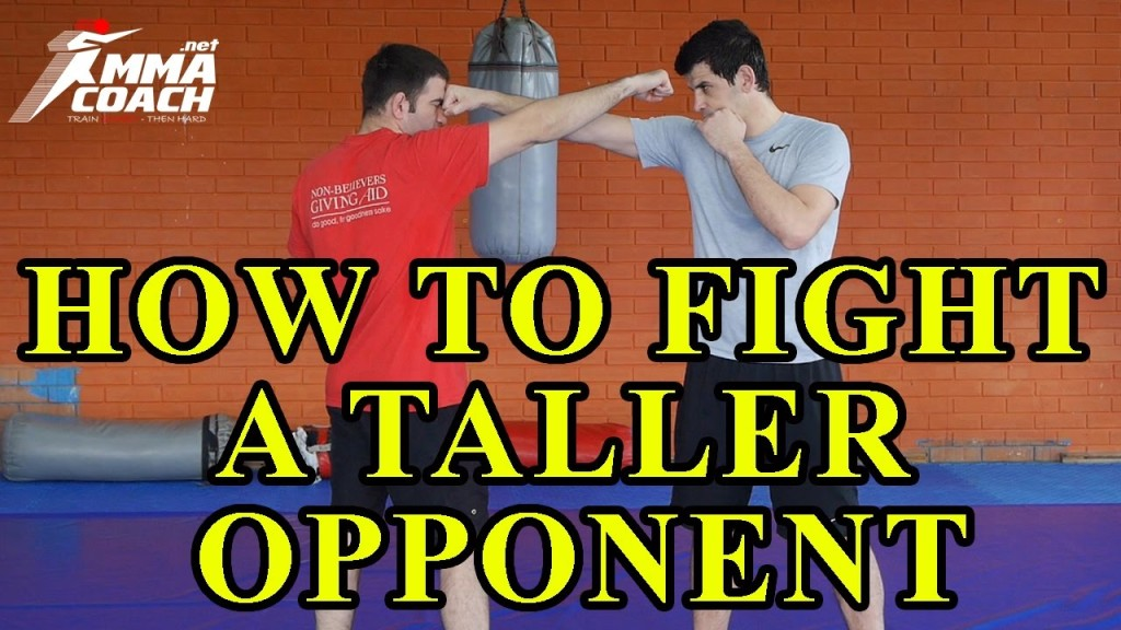 How to fight a bigger opponent