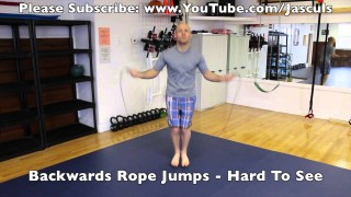 22 Jump Rope Techniques in 2 Minutes – Jason Scully – BJJ Grappling Exercise