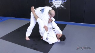 Andre Galvao, Lasso Guard Sweep With Omoplata