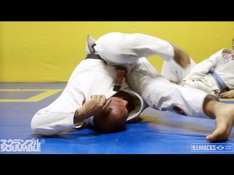 Drills for Inverting in BJJ- Roberto Cyborg