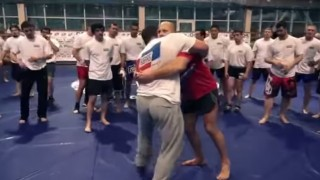 Fedor Emelianenko: Clinch and takedowns work- Seminar 2013