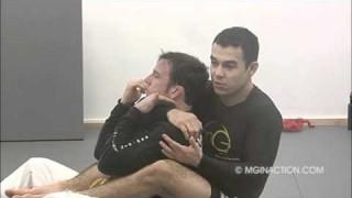 Finishing the Rear Naked Choke vs Defending Opponent- Marcelo Garcia