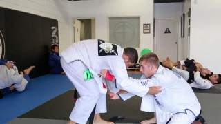 Andre Galvao rolling with Keenan Cornelius