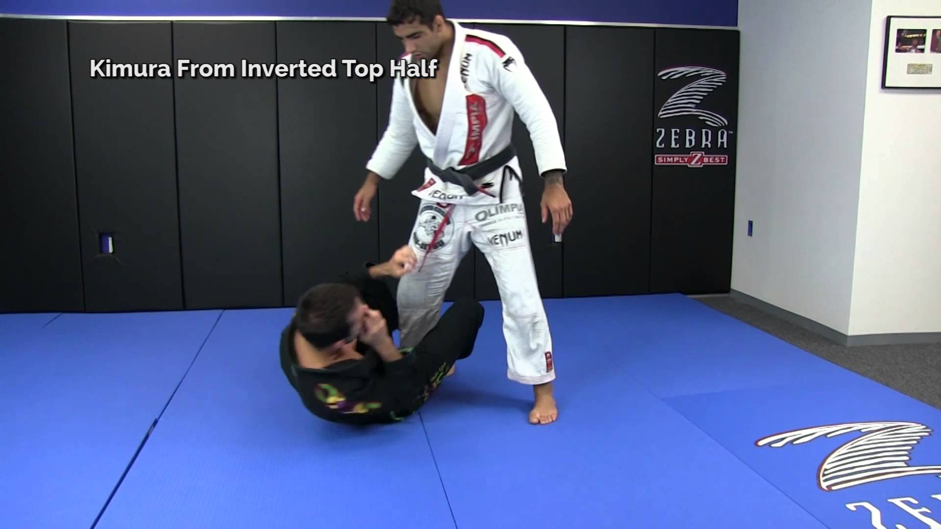 Leandro Lo Teaches Kimura From Inverted Top Half