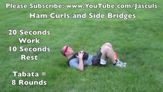 Leg Blaster Workout with Hill Sprints at the Park – Jason Scully