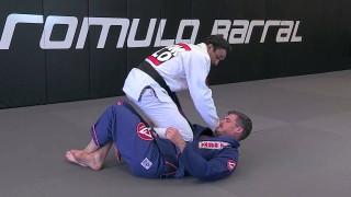 Romulo Barral Teaches Knee Slice Cross Choke From Half Guard