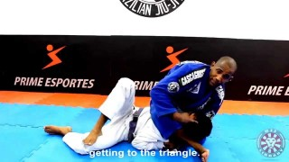 Fernando Terere's Triangle from Side Control that Submitted Marcelo Garcia in 2003