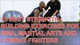 10 Best Strength Building Exercises For BJJ