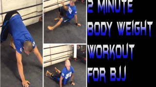 2 Minute Body Weight Workout for BJJ