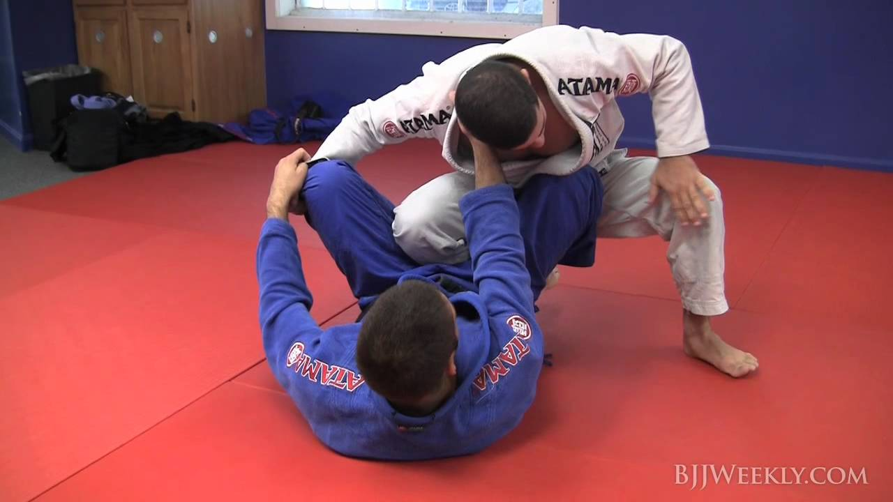 Ankle Pick Takedown with Guard Pass- Tanquinho Mendes
