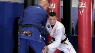 Arm Drag to Kouchi Gake- Brandon Mullins