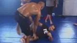 Bj Penn Rolling with Leo Vieira