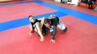 Effective way to finish an omoplata on a very strong opponent