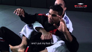 EXPLOSIVE Single Leg Defense To Back Take | Evolve University