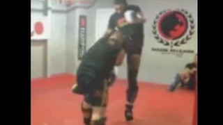 Fabricio Werdum training for Cain Velasquez UFC 188