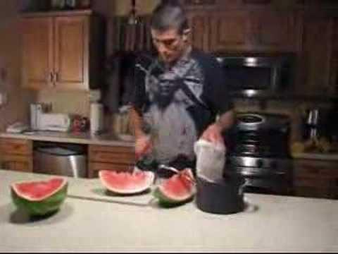 Gracie Diet – Gorilla Watermelon Juicing Technique
