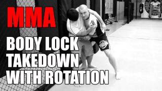 How to do Body Lock Rotation Takedown- Marcin Lazarz