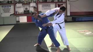 Jimmy Pedro – Foot Trips against stiff arm