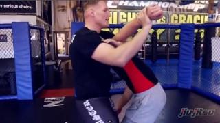 Josh Barnett- Standing Kimura Catch Wrestling