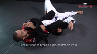 Kimura Defense Into Armbar | Evolve University