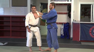Knee Osoto Gari for BJJ- Jimmy Pedro & Travis Stevens