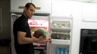 Ryron Gracie Vegetable Smoothie