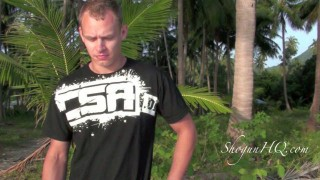 Solo drills for BJJ on the Beach
