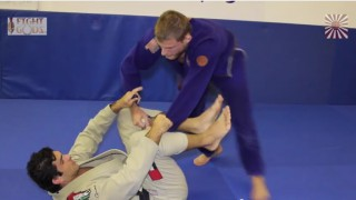 Alexander Trans shows Armbar from guard pass