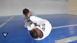 Triangle Choke Setup from Open Guard | Yuri Simoes | Jits Magazine