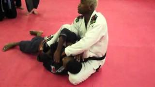 2 Chokes from Side Control- Fernando Terere