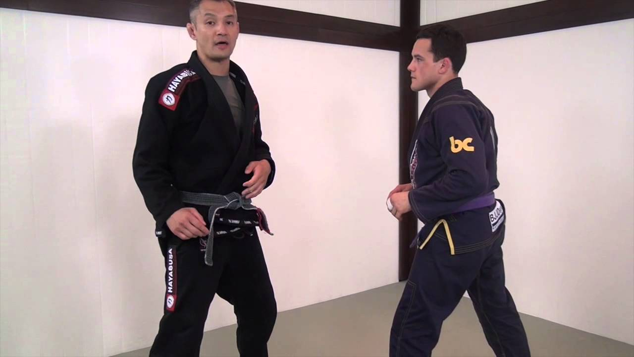 Arm Drag into Ankle Pick