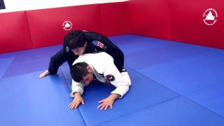Arm-In Ezekiel Choke from Turtle- Jean Jacques Machado