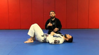 Baseball Bat Choke from Knee on Belly- Kristian Woodmansee