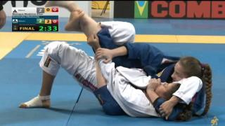 Dominyka Obelenyte vs Monique Medeiros Elias 2015 Mundials (Absolute Finals) and Podium